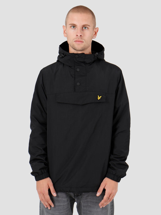 Lyle and Scott Overhead Anorak 572 True Black JK1116V