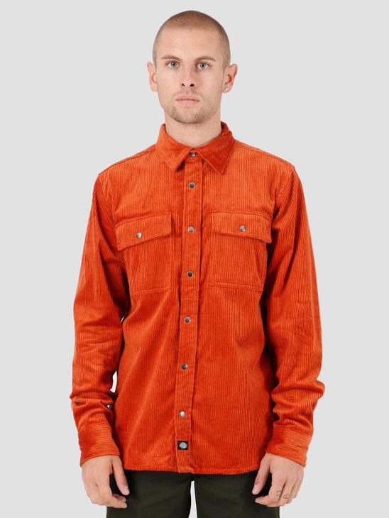 Dickies Ivel Shirt Rust DK520357RUS1