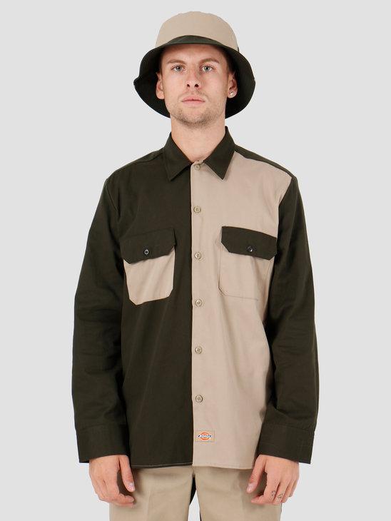 Dickies Hardinsburg Shirt Khaki DK520354KHK1