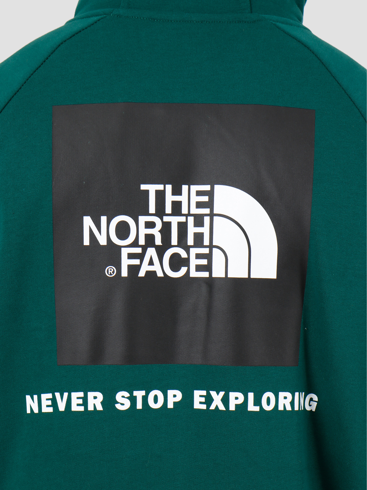 The North Face The North Face Raglan Redbox Hoodie Night Green T92ZWUN3P