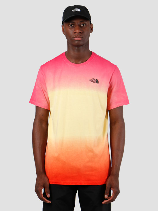 The North Face T-Shirt Simple Dome Yosemite Effect Print T92TX5NKS