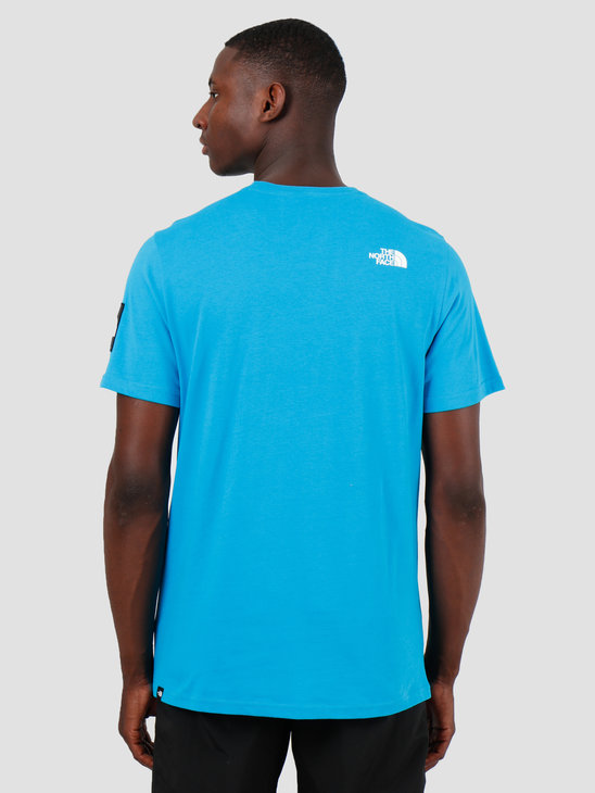 The North Face T-Shirt Fine 2 Acoustic Blue T93YHCJA7