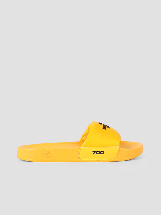 The North Face Nuptse Slide Yellow Black T947AHLR0