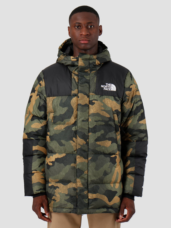 The North Face Deptford Down Jacket Burn to Live Green Waxed T93MJLF32
