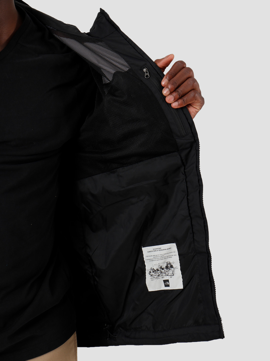 The North Face The North Face 1990 Mountain Q Jacket Black White T92S51NM9