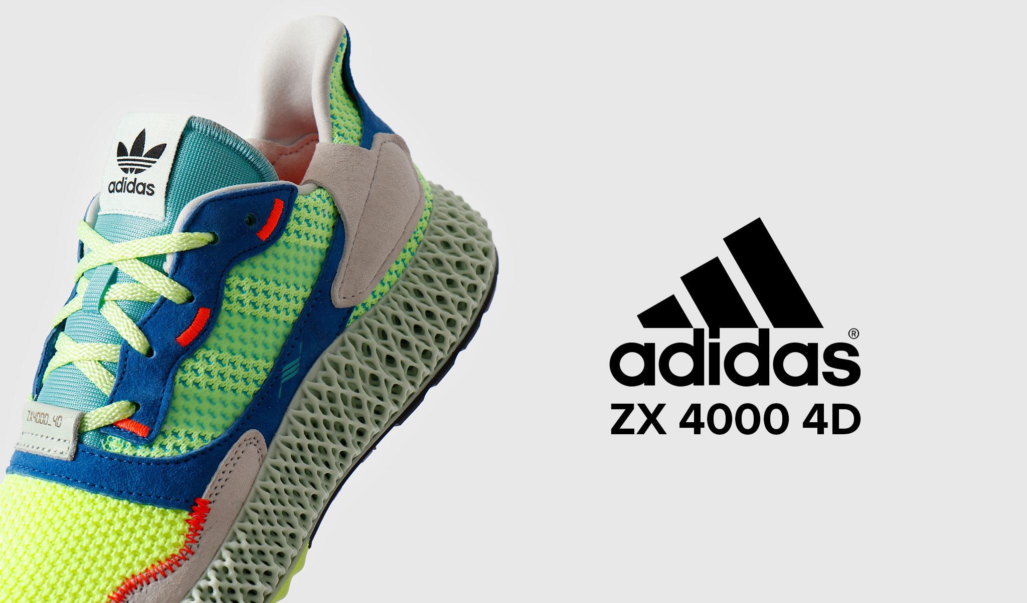 BLOG Release: adidas ZX 4000 4D FRESHCOTTON