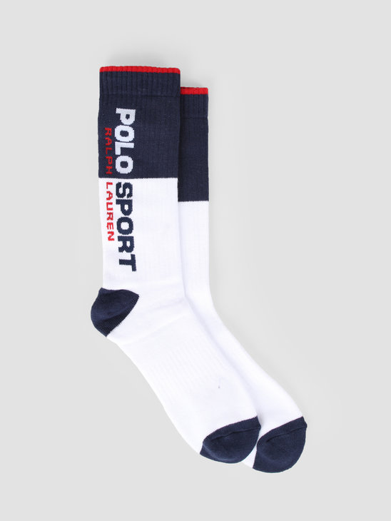 Polo Ralph Lauren Cotton Single Socks White 449767206001