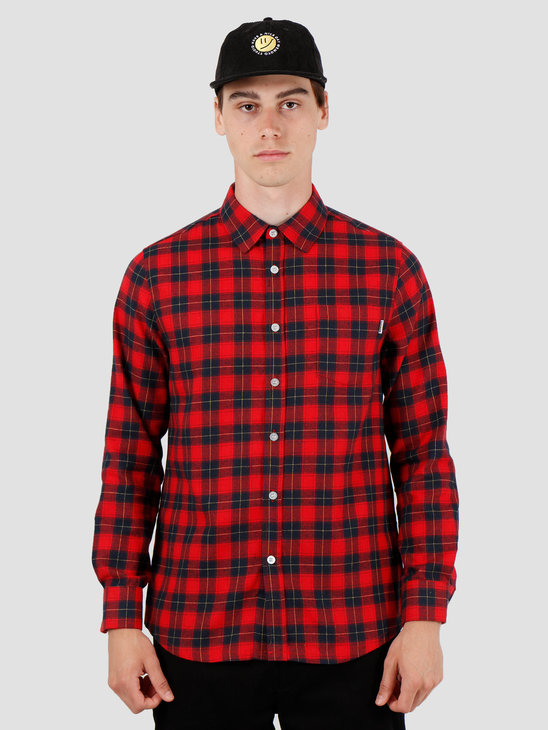 Wemoto Tend Shirt Red 141.312-500