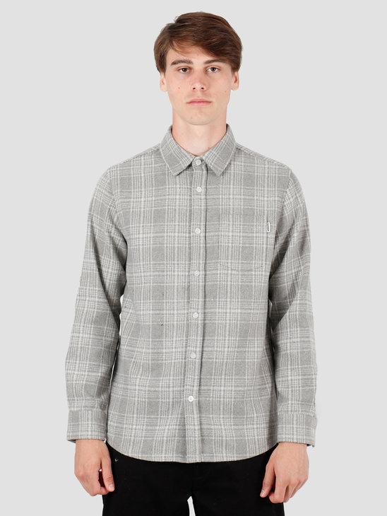 Wemoto Cooper Shirt Light Grey 141.305-327