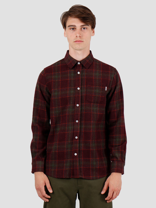 Wemoto Everett Shirt Burgundy 141.306-501