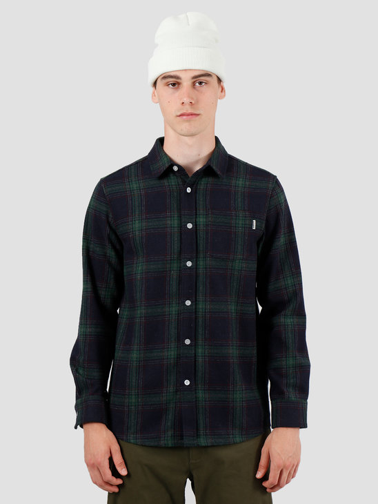 Wemoto Everett Shirt Navy Blue 141.306-400