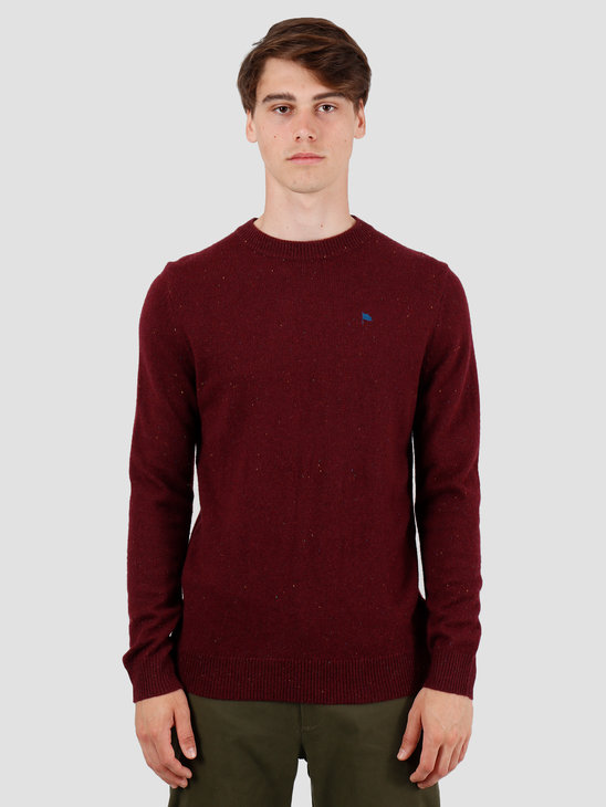 Wemoto Norman Sweater Burgundy Nep 141.501-566