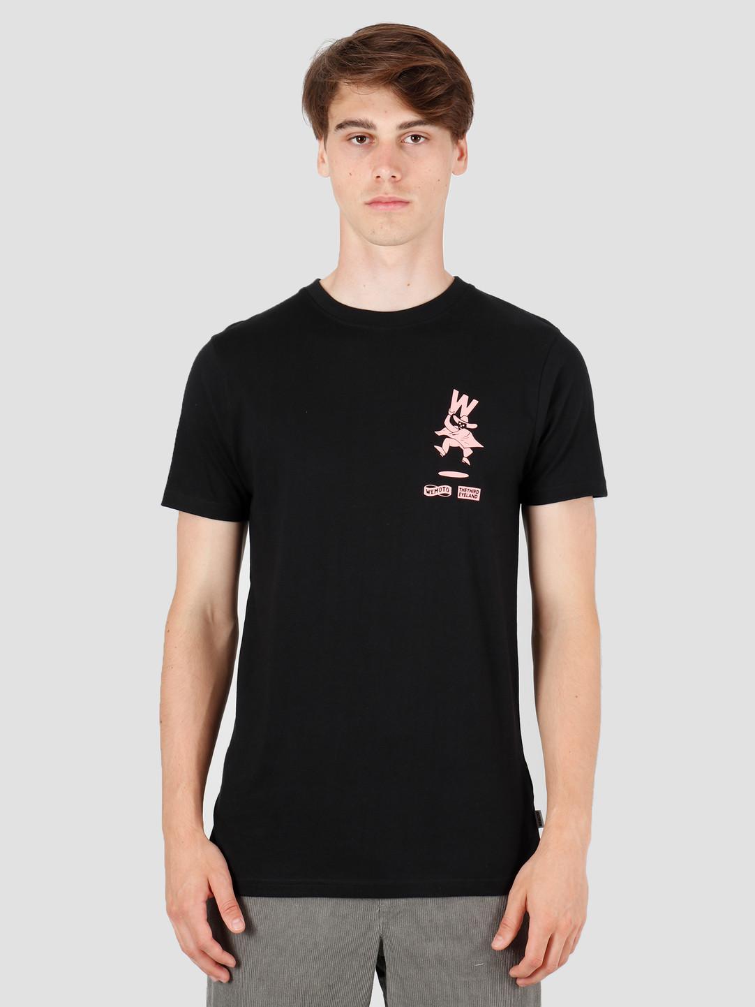 Wemoto Wemoto Wombre T-Shirt Black 141.135-100