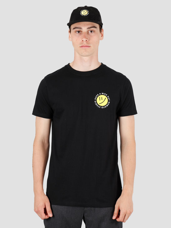 Wemoto Day T-Shirt Black 141.101-100