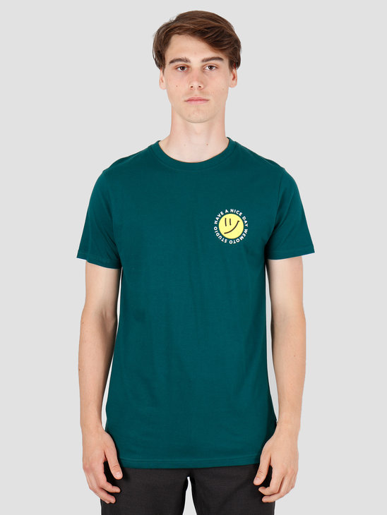 Wemoto Day T-Shirt Dark Green 141.101-639