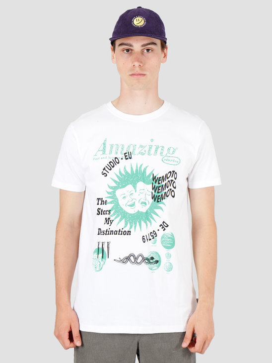 Wemoto Destination T-Shirt White 141.122-200