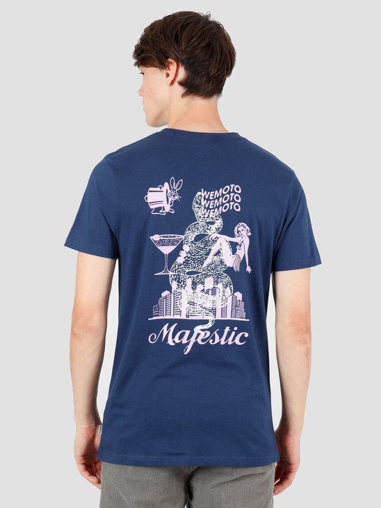 Wemoto Majestic T-Shirt Navy Blue 141.126-400