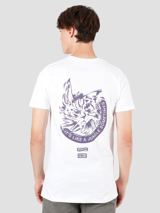 Wemoto Jungle T-Shirt White 141.136-200