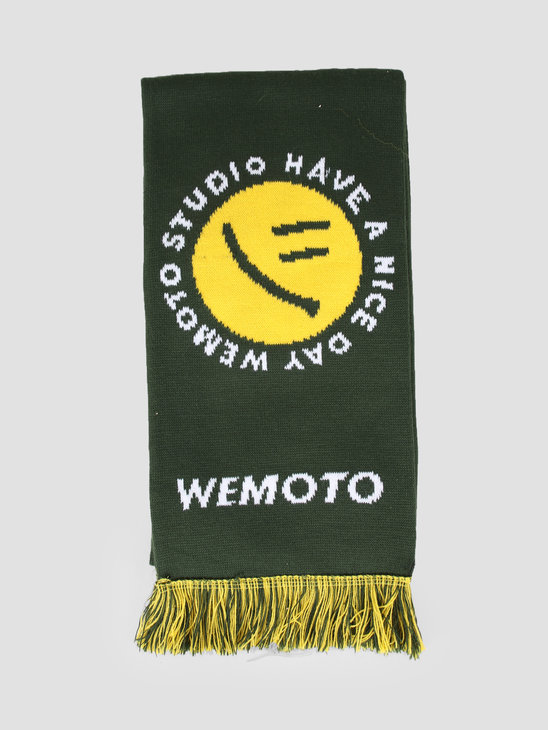 Wemoto Day Scarf Forest Green 143.803-652