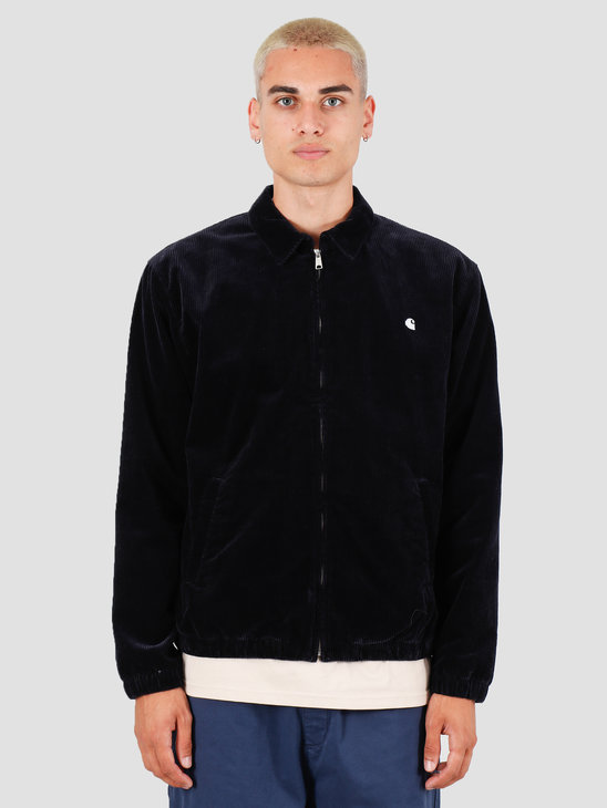 Carhartt WIP Madison Jacket Dark Navy White I027368