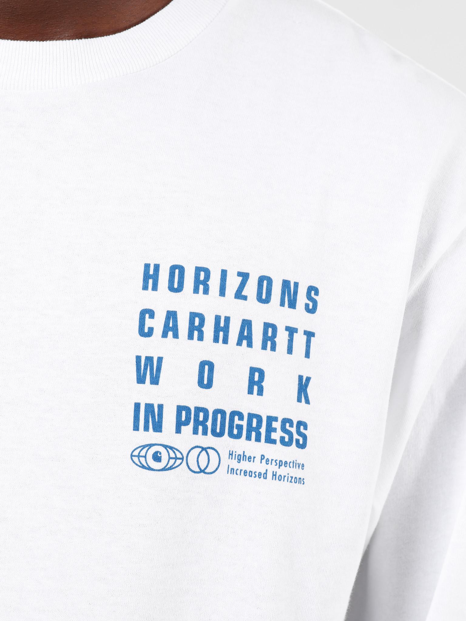 Carhartt WIP Carhartt WIP Longsleeve Horizon Shirt White I027083