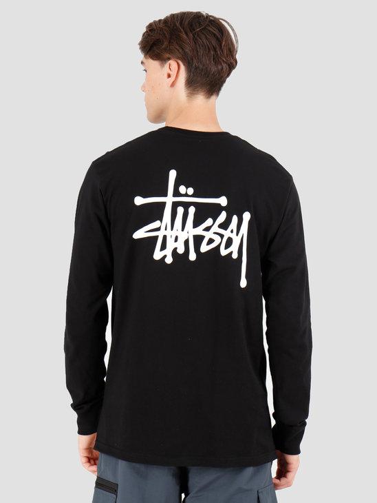 Stussy Basic Stussy Longsleeve T-Shirt Black 1994416