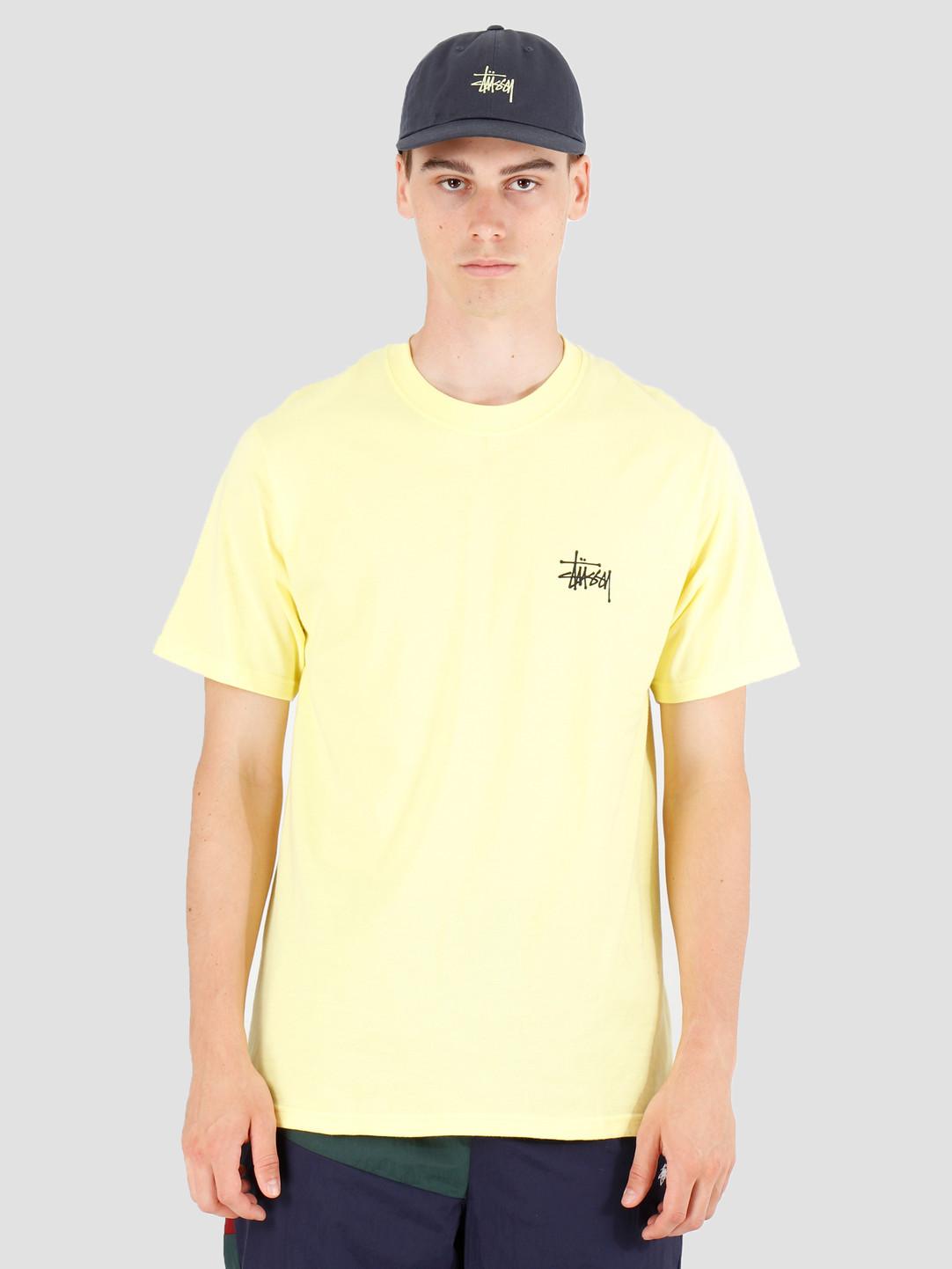 Stussy Stussy Basic Stussy T-Shirt Lemon 1904416
