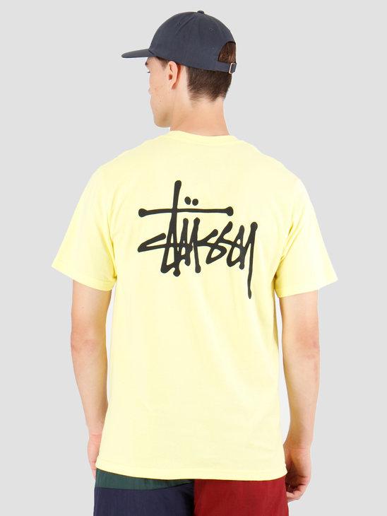 Stussy Basic Stussy T-Shirt Lemon 1904416