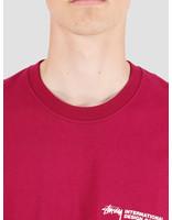 Stussy Stussy Double Mask T-Shirt Wine 1904424