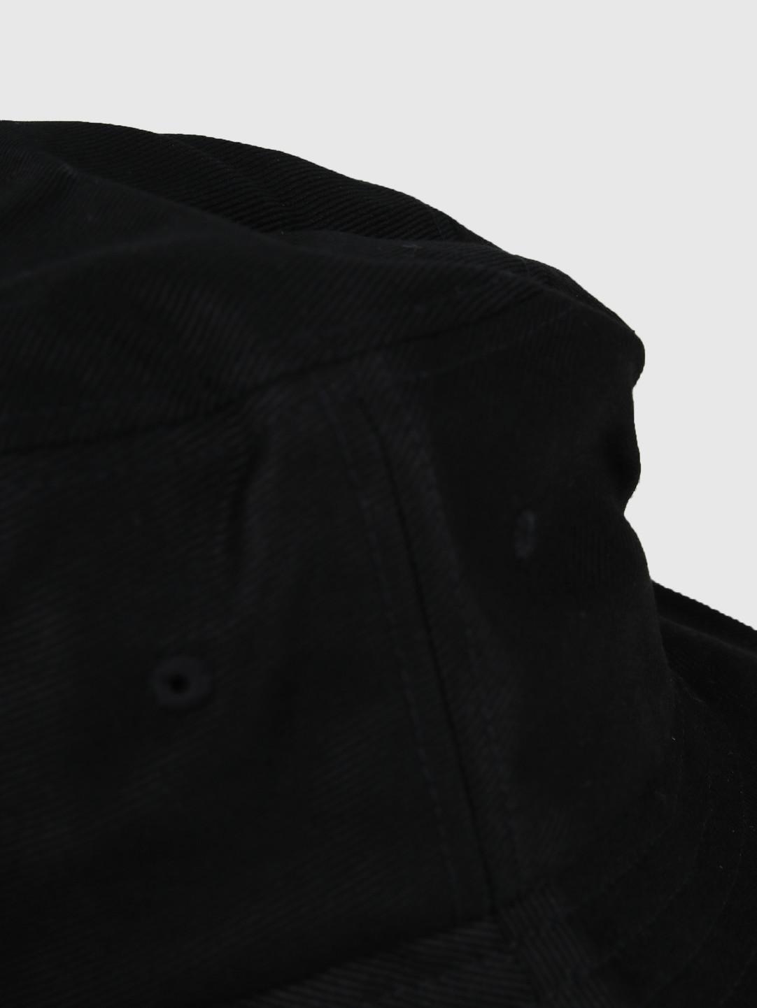 Stussy Stussy Big Logo Bucket Hat Black 132942