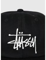 Stussy Stussy Big Logo Low Pro Cap Black 131898