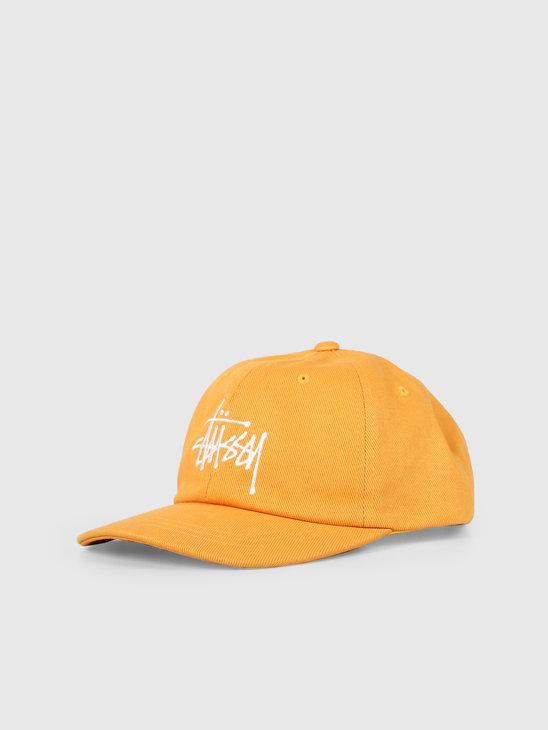 Stussy Big Logo Low Pro Cap Gold 131898
