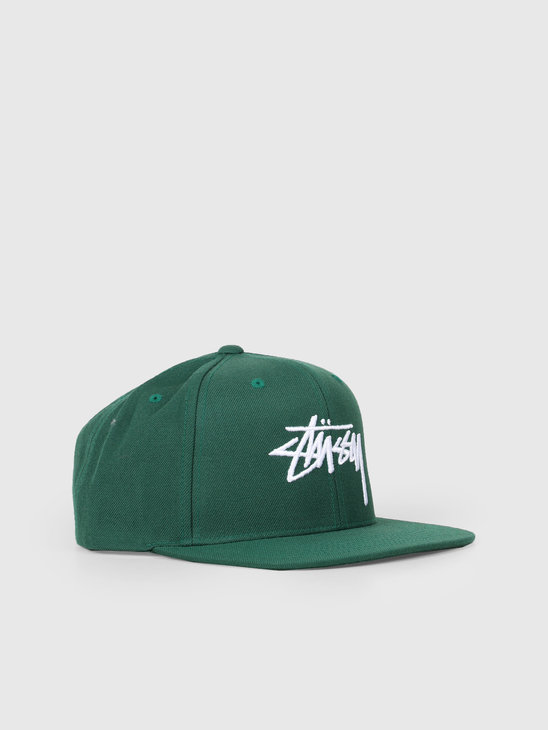 Stussy Stock Cap Green 131908
