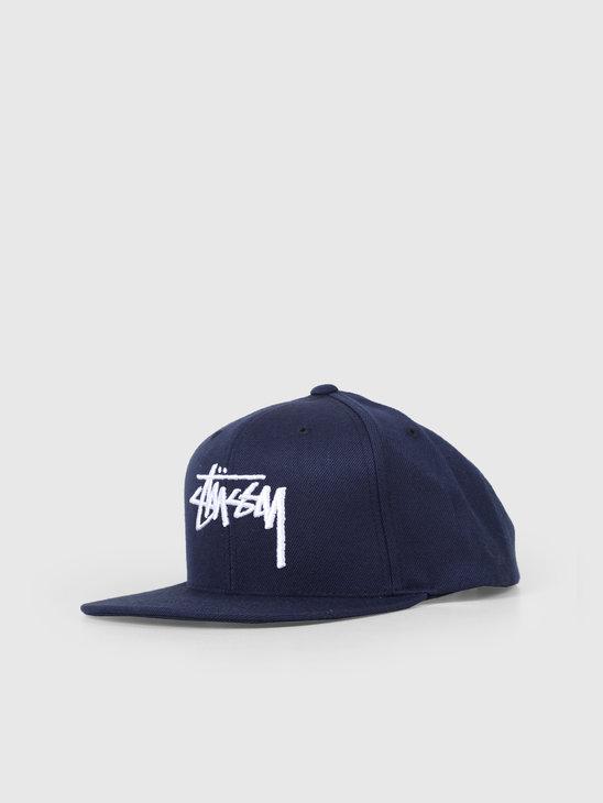 Stussy Stock Cap Navy 131908
