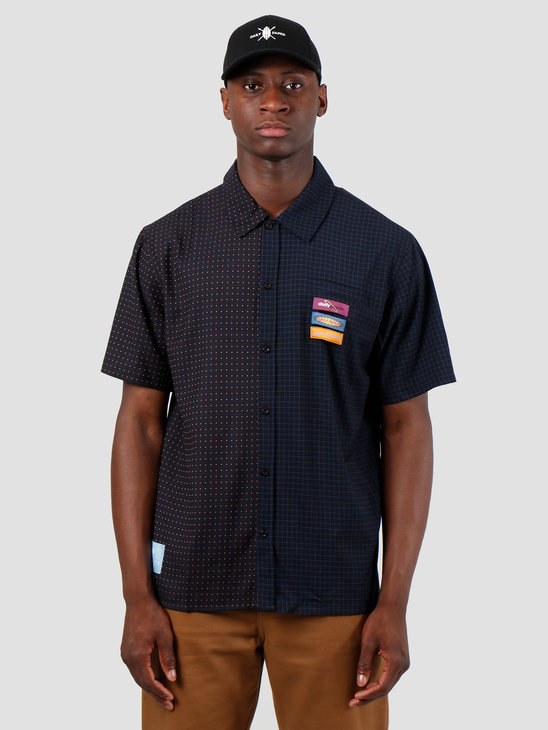 Daily Paper Gatik 1 Shirt Black Dot Check 19F1SH02-01