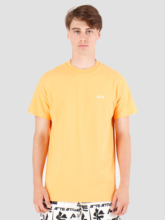 Arte Antwerp Tyler T-Shirt Orange AW19-048