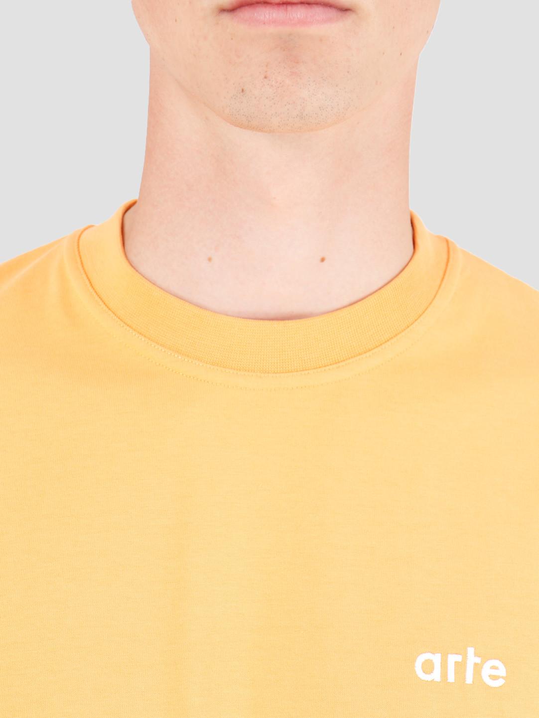 Arte Antwerp Arte Antwerp Tyler T-Shirt Orange AW19-048