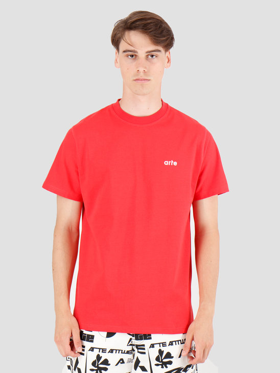 Arte Antwerp Tyler T-Shirt Red AW19-048
