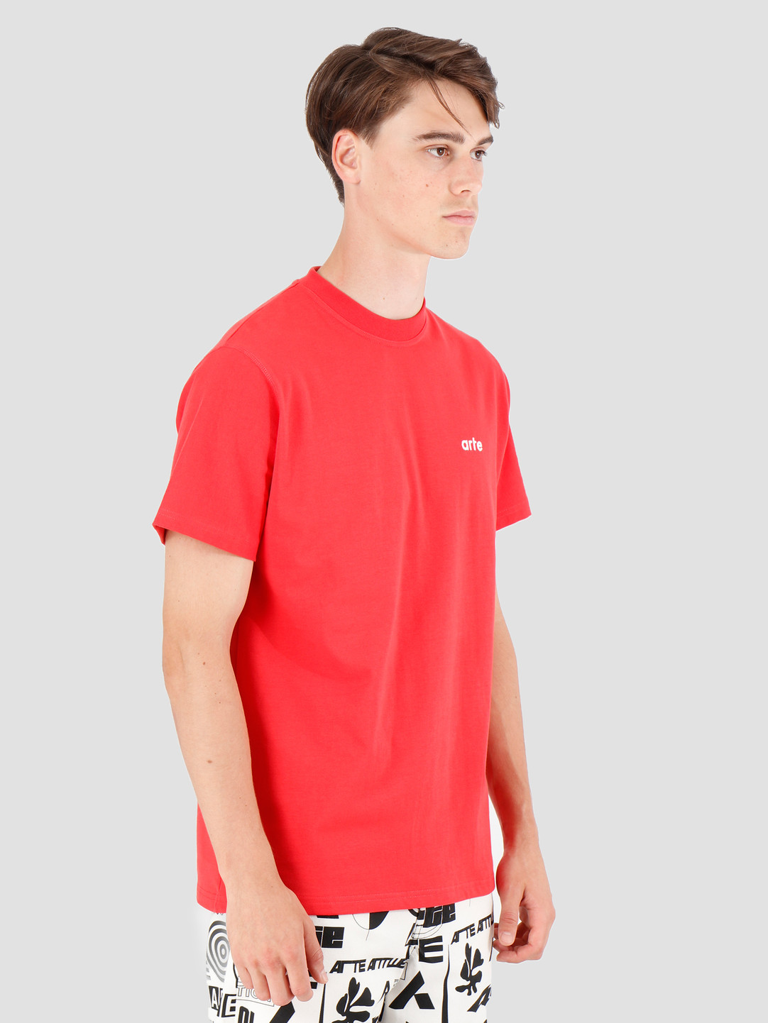 Arte Antwerp Arte Antwerp Tyler T-Shirt Red AW19-048