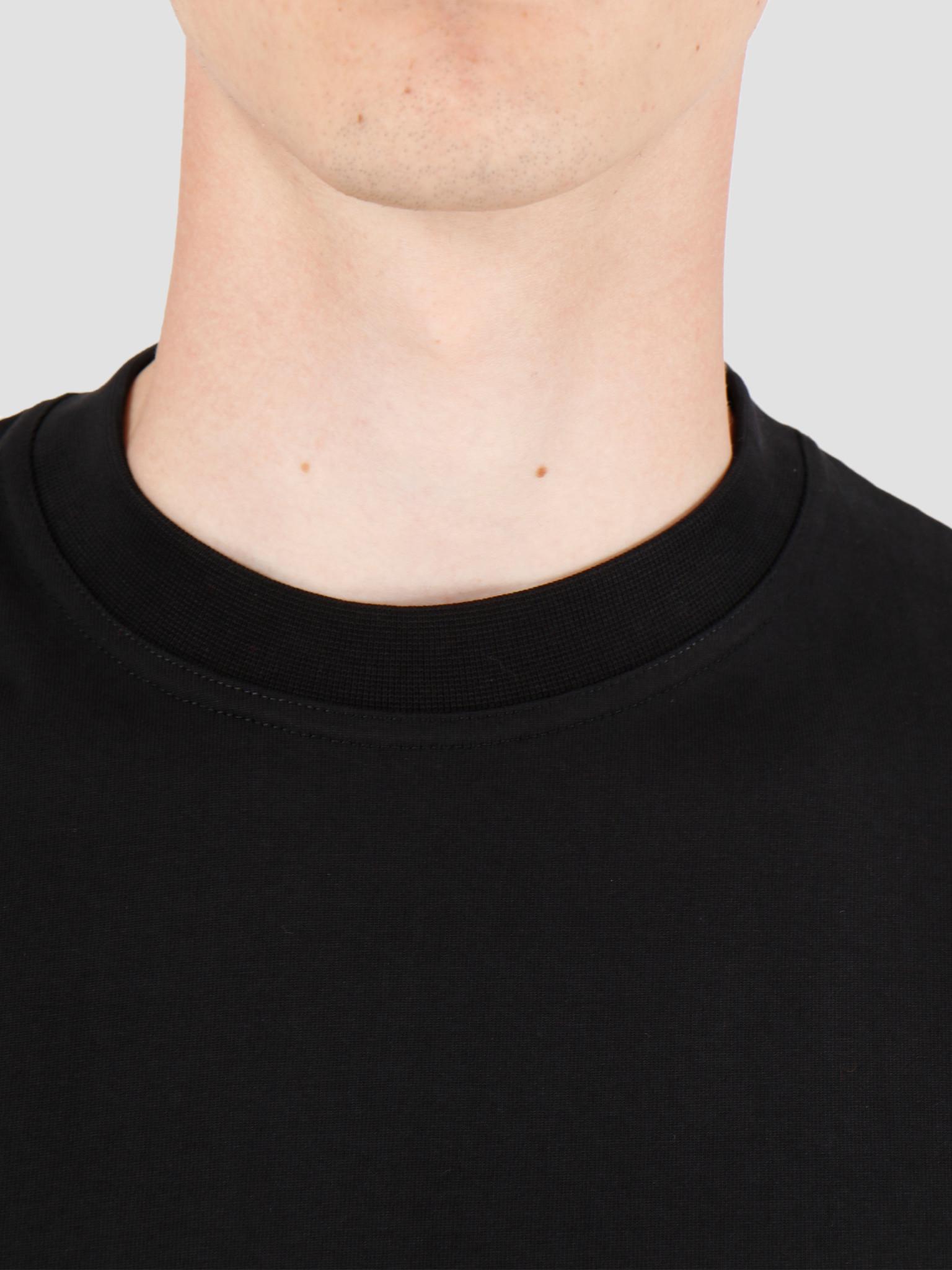 Arte Antwerp Arte Antwerp Tyler T-Shirt Black AW19-048