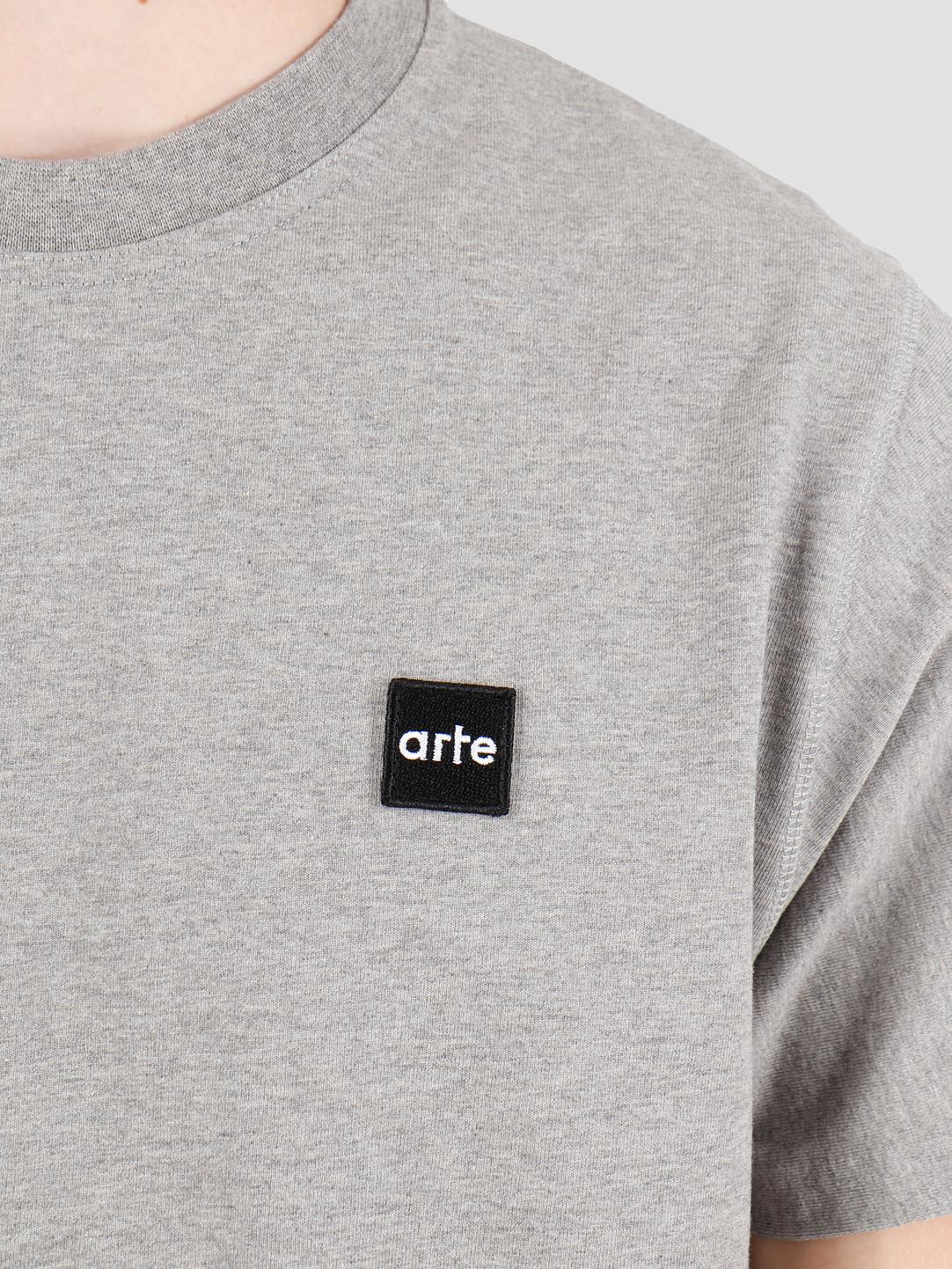 Arte Antwerp Arte Antwerp Tyler Patch T-Shirt Grey AW19-073