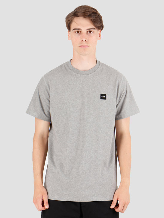 Arte Antwerp Tyler Patch T-Shirt Grey AW19-073