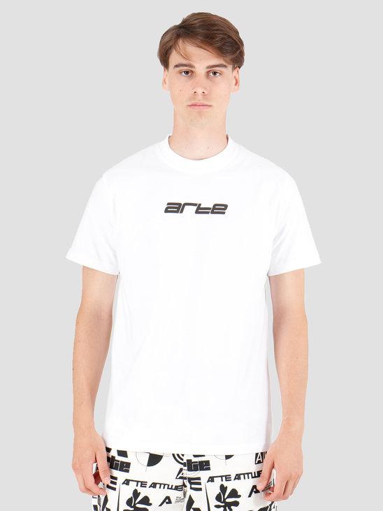 Arte Antwerp Tyler Digital T-Shirt White AW19-042
