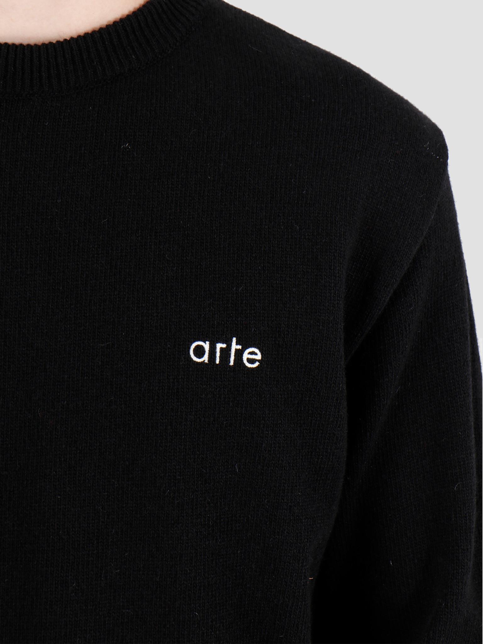 Arte Antwerp Arte Antwerp Kobe  Knit Sweater Black AW19-019
