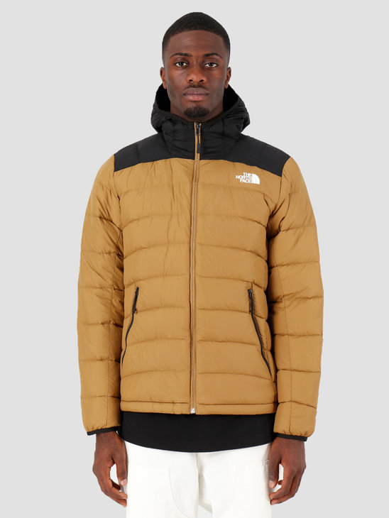 The North Face Lapaz Hooded Jacket British Khaki T0CYG9D9V