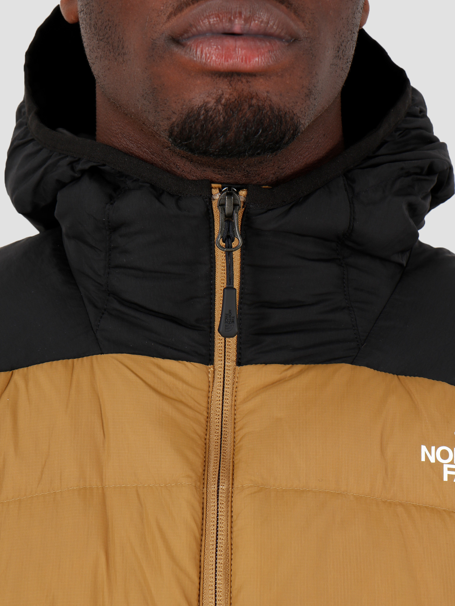 The North Face The North Face Lapaz Hooded Jacket British Khaki T0CYG9D9V