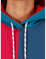 By Parra By Parra ColorblockedHoodedSweater Multicolor 42870