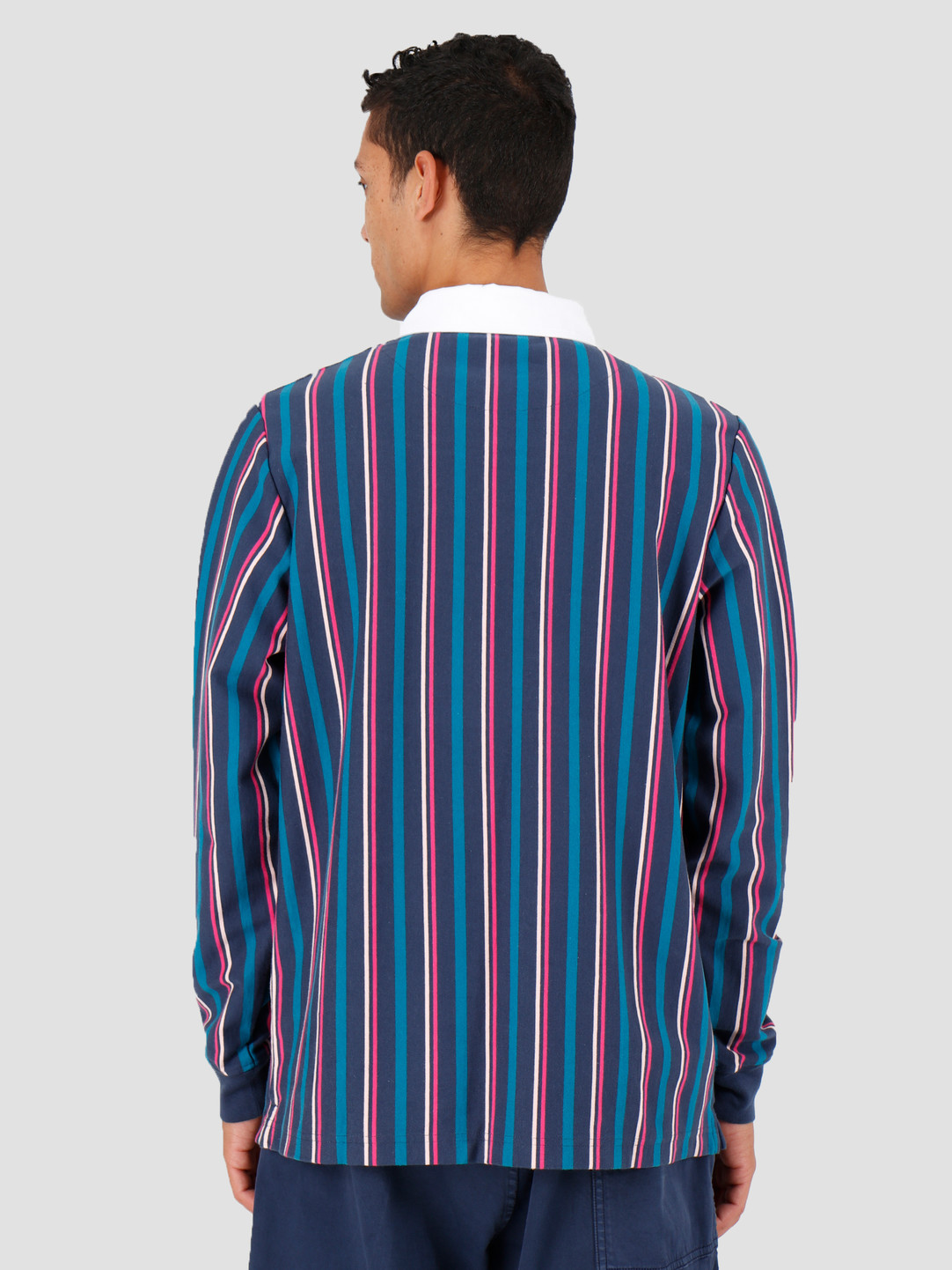 By Parra By Parra Racing Goose Rugby Shirt Multicolor 42780