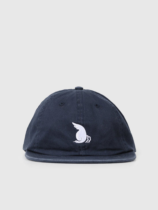 By Parra Racing Goose 6 Panel Hat Navy Blue 42940