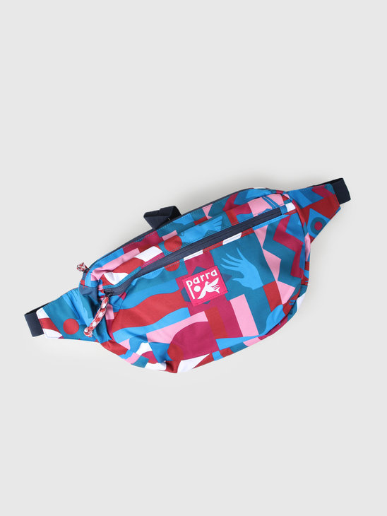 By Parra Grab The Flag Waist Bag Multicolor 42810
